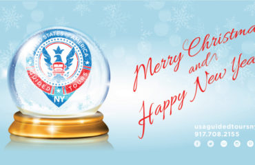 Happy Holidays from USAGT NY - 2015!