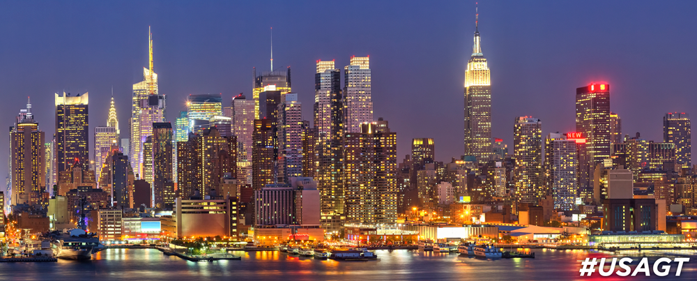 Midtown Manhattan Panorama at Night | USA Guided Tours NY | New York Bus Tours | Best Guided NYC Bus Tours