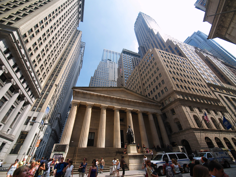 Wall Street NYC   New York Bus Tours