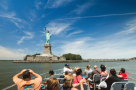 Statue of Liberty From Boat Cruise | New York Bus Tours